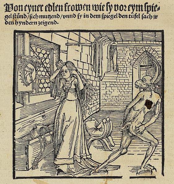 Geoffroy de La Tour Landry, Marquart von Stein Der Ritter von Turn von den Exemplen der Gotzforcht vnd Erberkeit Basel, 1513 (d apres Durer 1498)