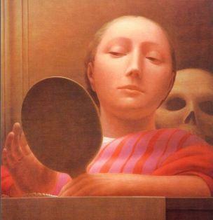 George Tooker Mirror I 1962