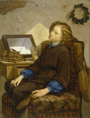 Thomas Couture 1859 Daydreams Walters Art Museum in Baltimore