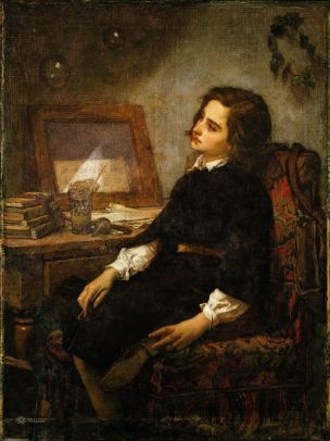 Thomas Couture 1859 Les bulles de savon MET