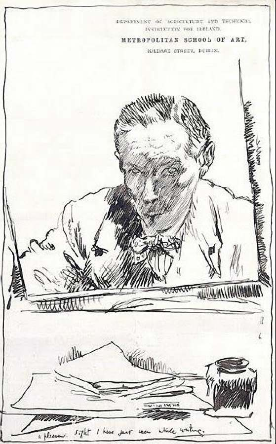 William Orpen 1909 self portrait