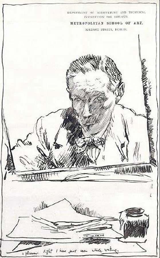 William Orpen 1909 self portrait