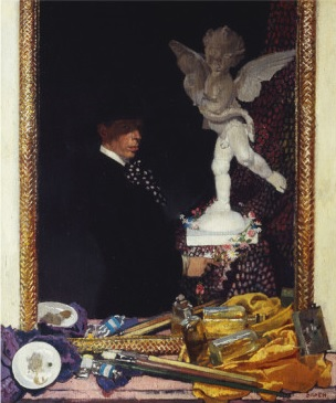 William Orpen 1910 Myself and Cupid