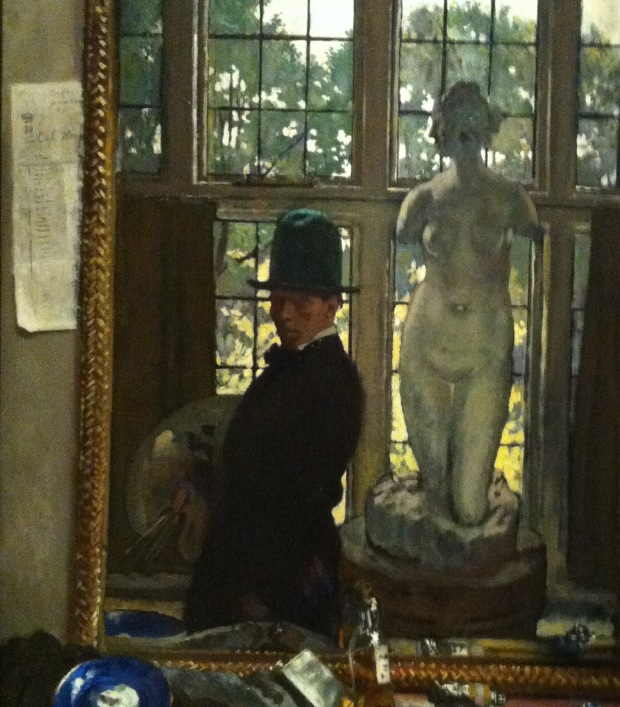 William Orpen 1910 Myself and Venus Carnegie Museum of Art  Pittsburgh, Pennsylvania