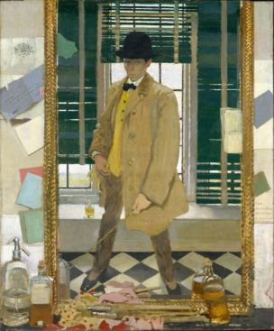 William Orpen 1910 Self-Portrait non corrige