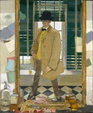 William Orpen 1910 Self-Portrait non corrige