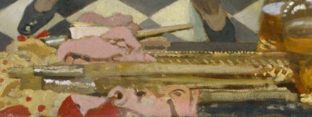 William Orpen 1910 Self-Portrait pinceaux