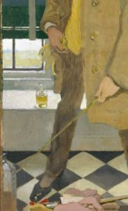 William Orpen 1910 Self-Portrait remake