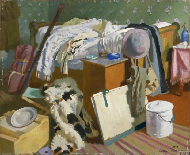 William Orpen 1917 My Work Room