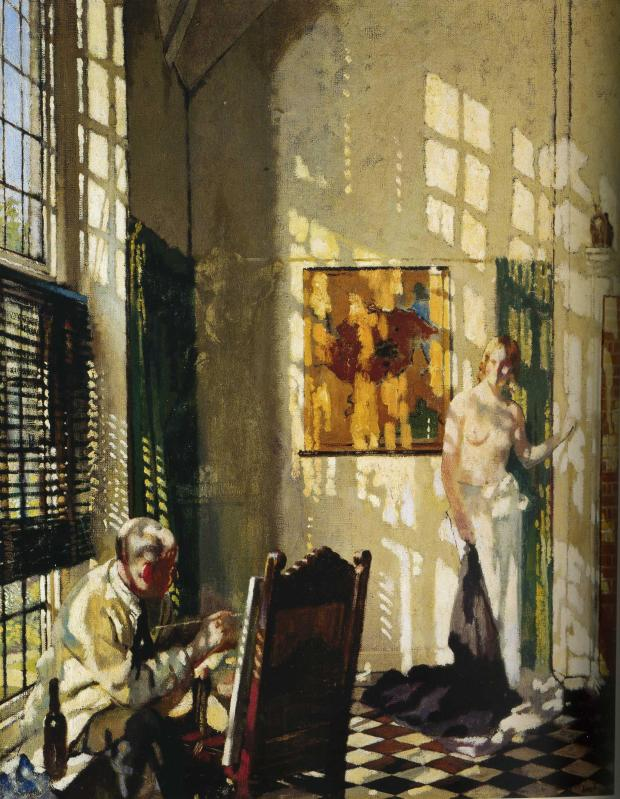 William Orpen, Sunlight, 1925, (Leeds Art Gallery)