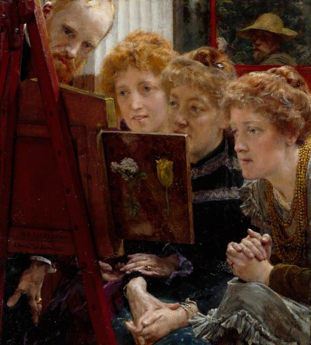 Alma Tadema family-group-1896 Royal Academy of Arts