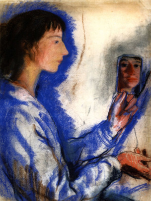 Autoportrait Zinaida Serebriakova 1910