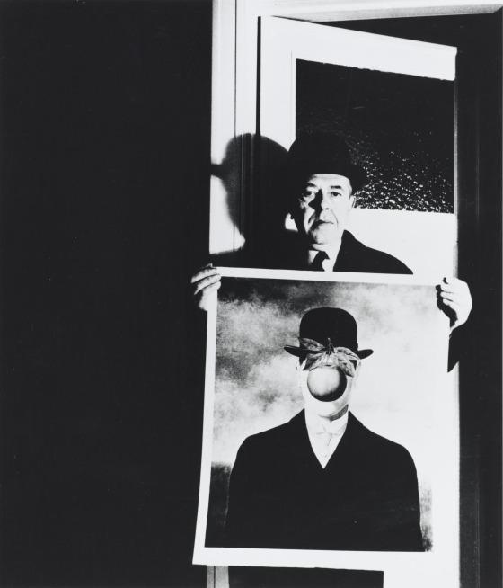 Bill Brandt, René Magritte, 1963