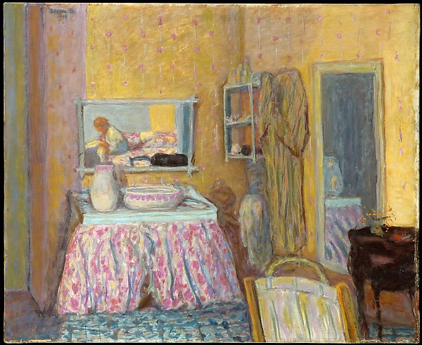 Bonnard The Dressing Room 1914