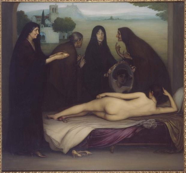 El Pecado_by_Julio_Romero_de_Torres 1913 Museo Reina Sofia