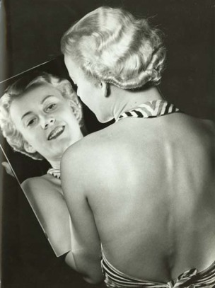 Franz Fiedler - Woman with a Mirror 1930s