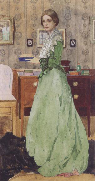 heinrich_vogeler_martha_vogeler_im_barkenhoff_1901