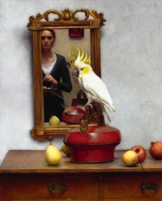 Louise Camille Fenne Self-Portrait with Cockatoo 2006