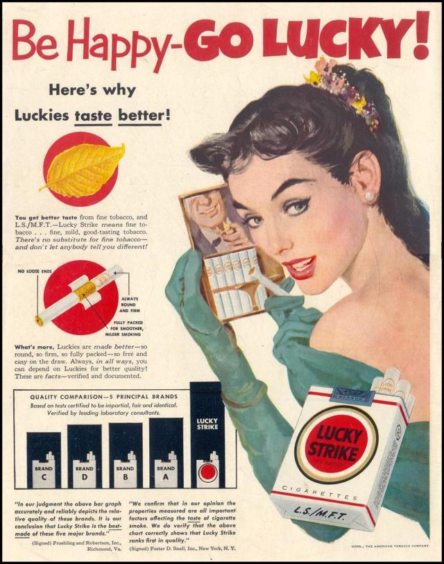 Lucky Strike 1952