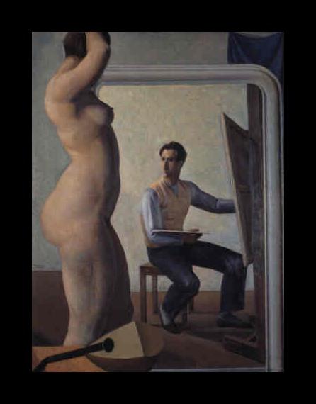 Mario Tozzi The Study,1928