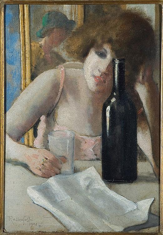 Rassenfosse La lettre, 1921 collection privee
