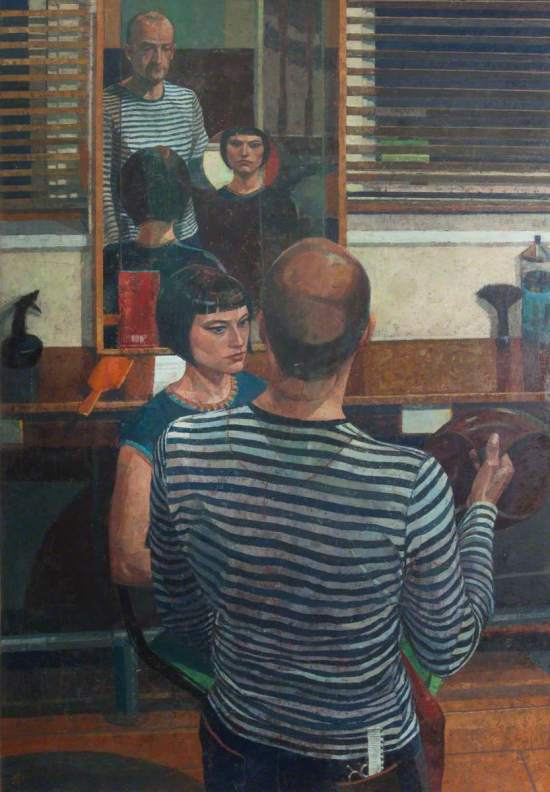 Dai, Saied, b.1958; The Hairdresser