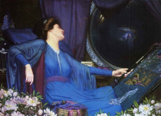 Sidney Harold Meteyard. 1913_half-sick_of_shadows,_said_the_lady_of_shalott-large