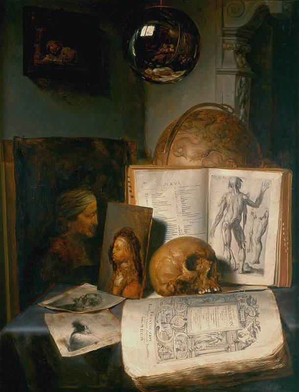 Simon luttichuys 1650 Muzeum Narodowe Gdansk vanite
