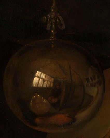 Vanitas, Pieter Gerritsz. van Roestraten, 1666-1700 Royal Collection Trust detail