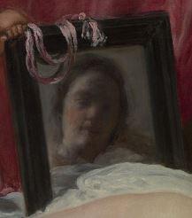 Velasquez Venus miroir detail