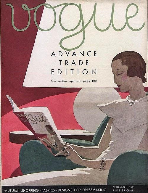 Vogue, 1932, A.E.Marty