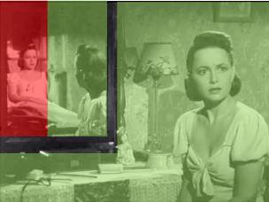 the-dark-mirror-robert-siodmak 1946 Olivia de Havilland schema