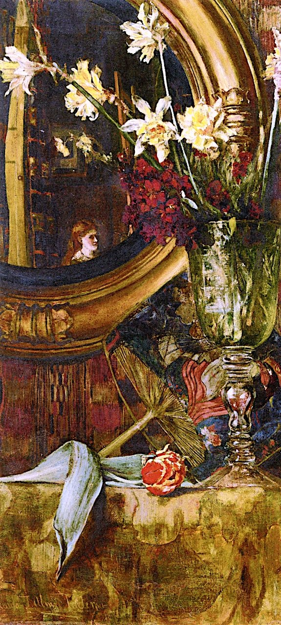 the-mirror-by-laura-therese-alma-tadema-1872