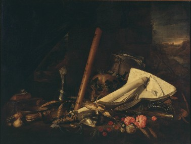 Jan Davidsz. de Heem Vanitas Bruxelles
