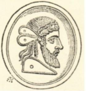 Tete de Platon ou Hypnos