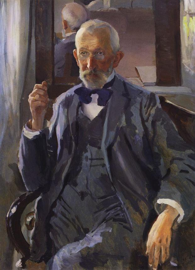 1897 somov portrait-of the-artist-s-father