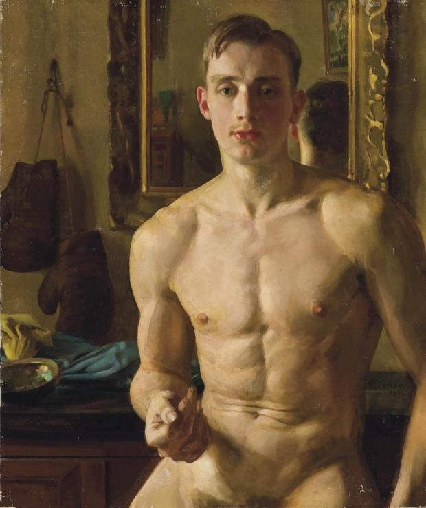 1932-1933 Somov Le boxeur