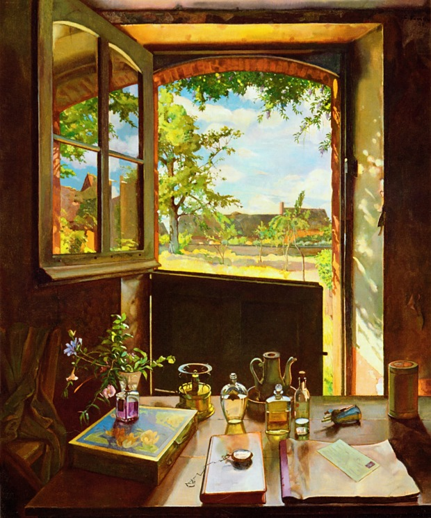 1934 open-door-on-a-garden