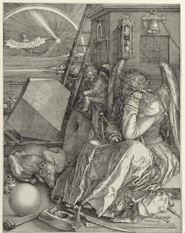 Durer Melecolia I 1514