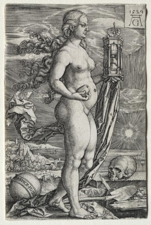 Heinrich Aldegrever Respice Finem 1529