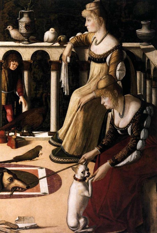 1500 Carpaccio deux dames venitiennes