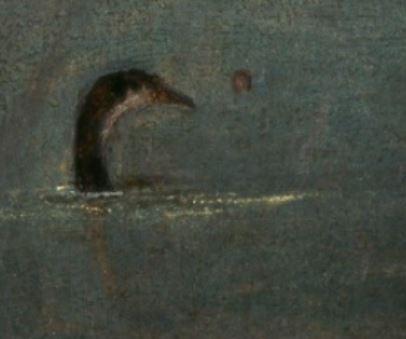 1500 (ca) Carpaccio chasse sur la lagune pelote