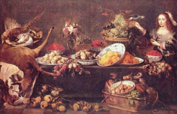 1630 ca Frans Snyders Staatliche Kunstsammlungen Dresden