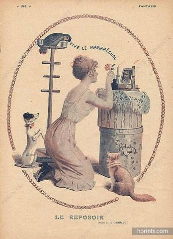 1918  henry-gerbault-le-reposoir hprints-com