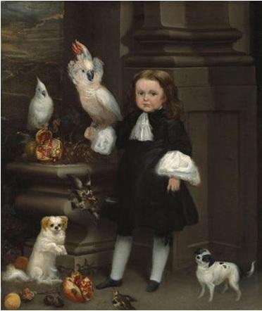 F 1680 ca Juan Carreno de Miranda, Retrato del enano Michol (Portrait of the Dwarf Michol), Meadows Museum, Dallas.