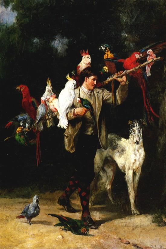 G 1865 John Lewis Brown, Le jour de sortie des pensionnaires Bordeaux musee des beaux-arts