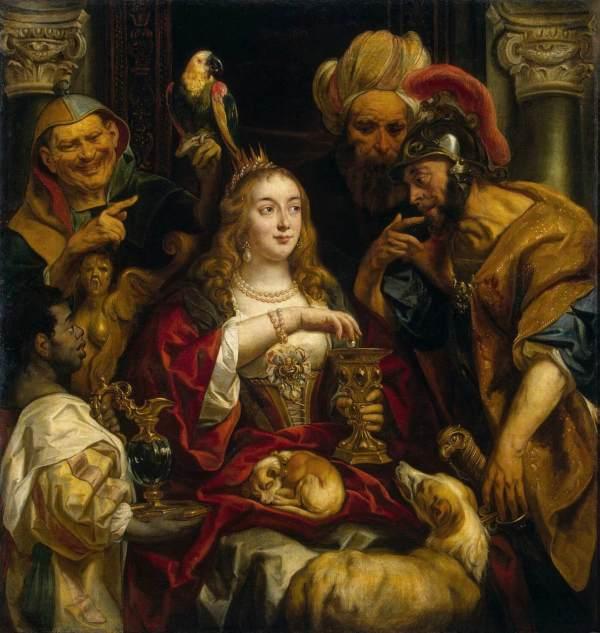 Jacob_Jordaens_-_Cleopatras_Feast_-_WGA11990