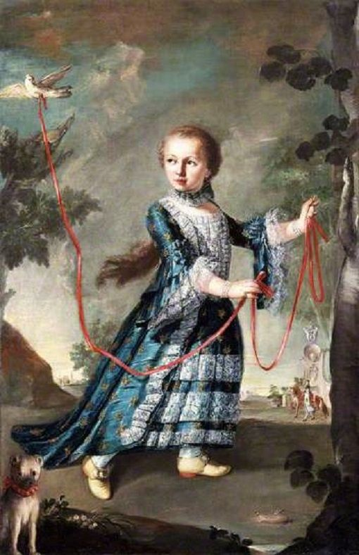 OC_1768 Francesco Guardi  A Young Girl of the Gradenigo Family with a Dove National Museum Wales