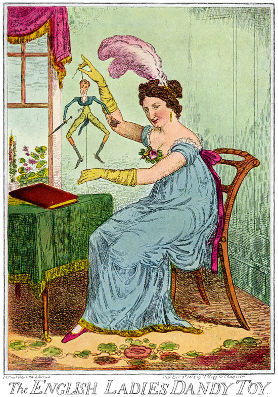 1818-English-Ladies-Dandy-Toy-IR-Cruikshank