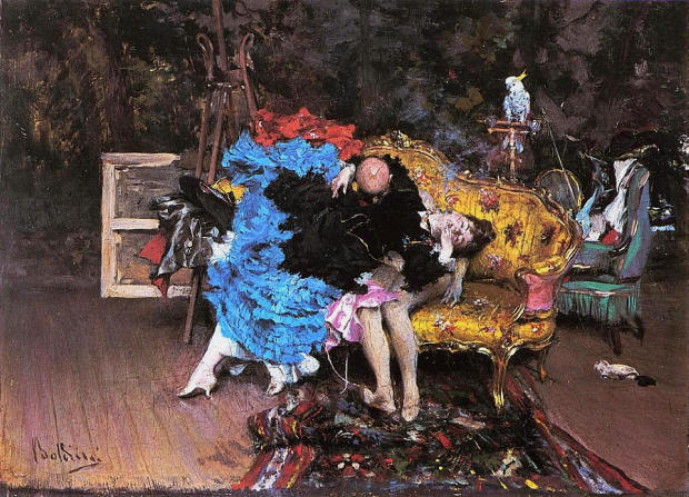 1873 boldini the-model-and-the-mannequin